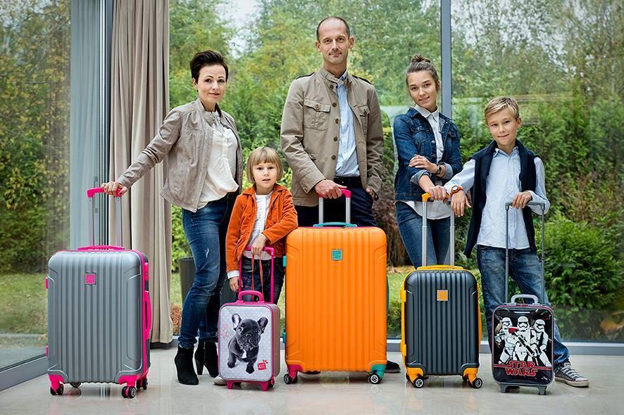 Niesamowita kolekcja walizek w różnych rozmiarach dla całej rodziny od ePlecaki.pl