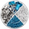 Zestaw artykułów biurowych HERLITZ mix box 4w1 Frozen Glam