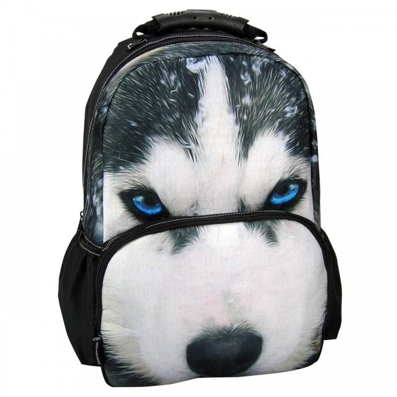 Plecak Szkolny ANIMAL PRINT PIES HUSKY
