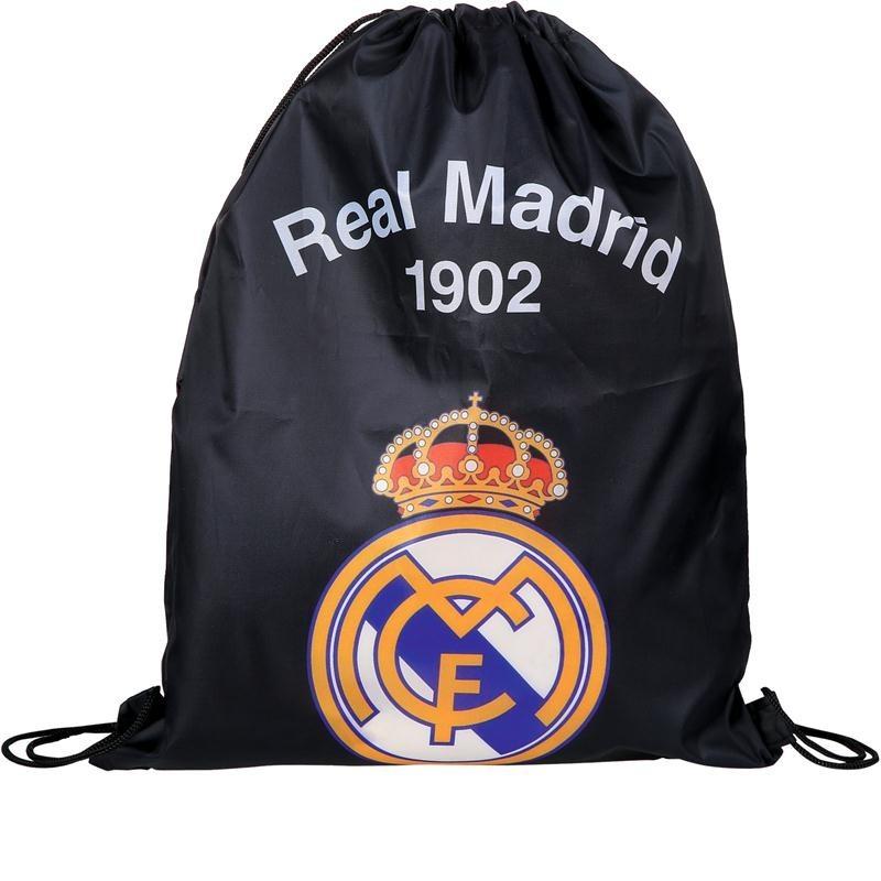 Worek na obuwie Real Madryt / Czarny