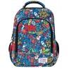 Plecak szkolny STRIGO graffiti street art kolorowy chłopięcy MISTY+