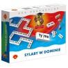Gra edukacyjna Alexander Sylaby w dominie dla dzieci