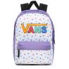 Plecak VANS dla dzieci REALM DAHLIA PURPLE serduszka kolorowy dziewczęcy