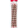 Druciki dekoracyjne trójkolorowe Titanum ozdoby gwiazdkowe 30cm 10 sztuk