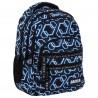 Plecak BackUP ONLINE czarny dla chłopaka M53