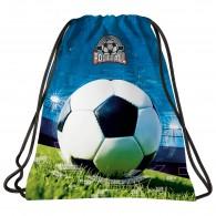 Worek szkolny z piłką nożną DERFORM dla chłopca FOOTBALL