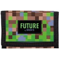 Portfel dla chłopca DERFORM GAME bloki pixele gra