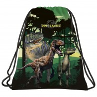 Worek z dinozaurem szkolny DERFORM T-Rex na buty DINOSAURS