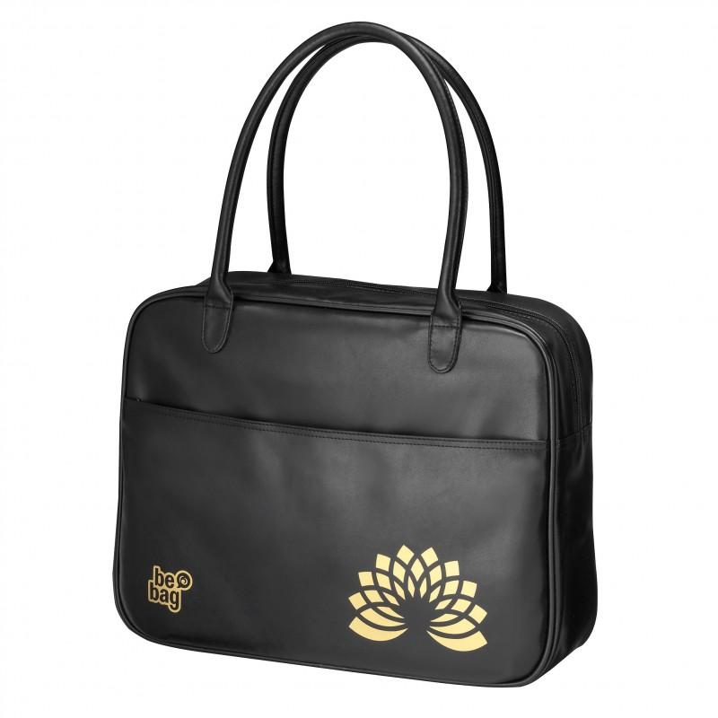 TORBA VINTAGE be.bag Fashion - Metallic Black