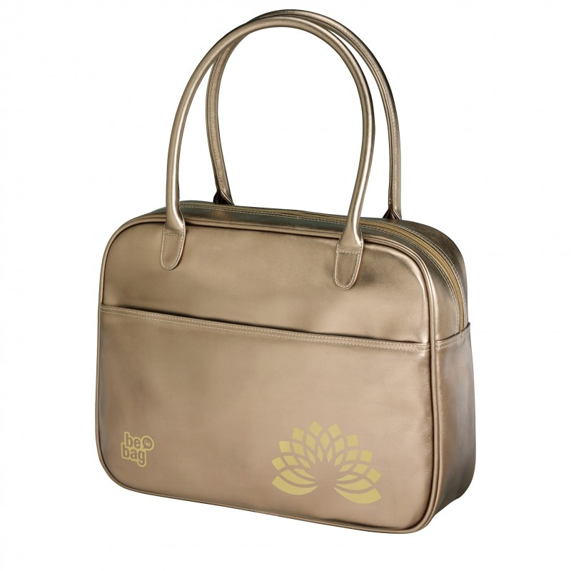 TORBA VINTAGE be.bag Fashion - Metallic Gold