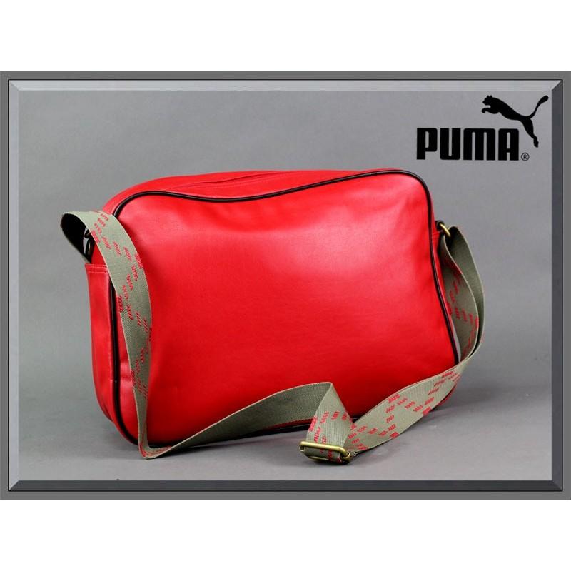 najlepsze ceny szczegółowy wygląd jakość TORBA PUMA - ORIGINALS REPORTER PU red - ePlecaki do szkoły ...