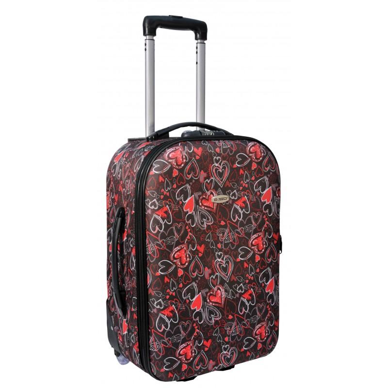 WALIZKA na kółkach (19-010F) bagaż podręczny Ryanair Wizzair
