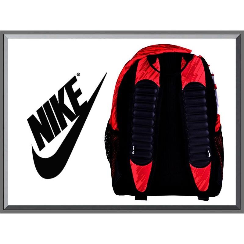 plecak nike air max czerwony
