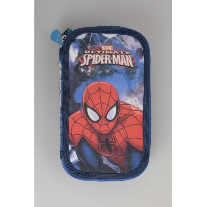 PIÓRNIK PODWÓJNY Z WYPOSAŻENIEM - Spiderman