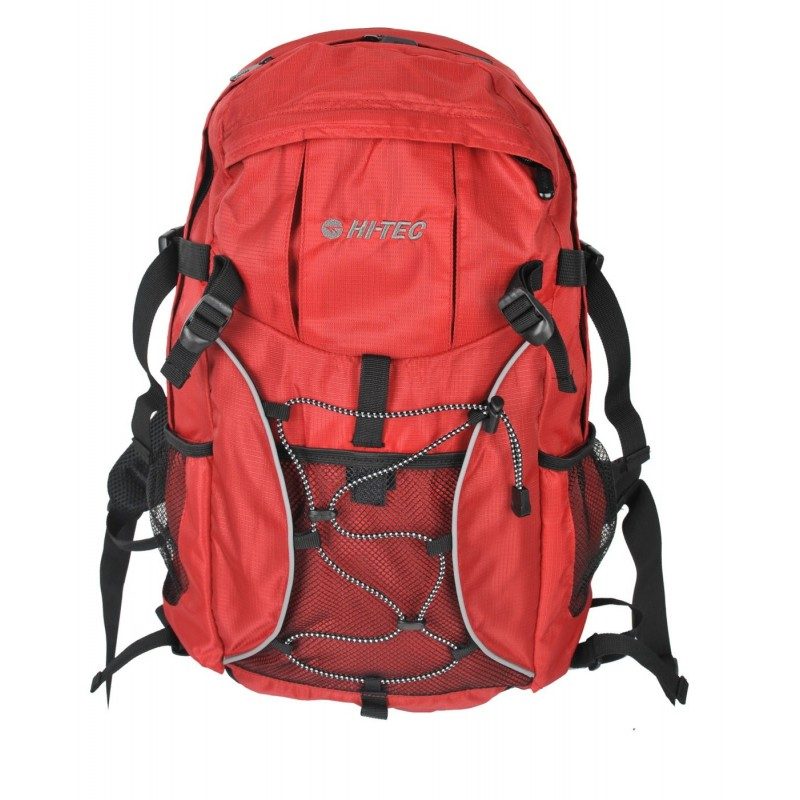 Plecak HI-TEC SEBBA 28L - czerwono-czarny