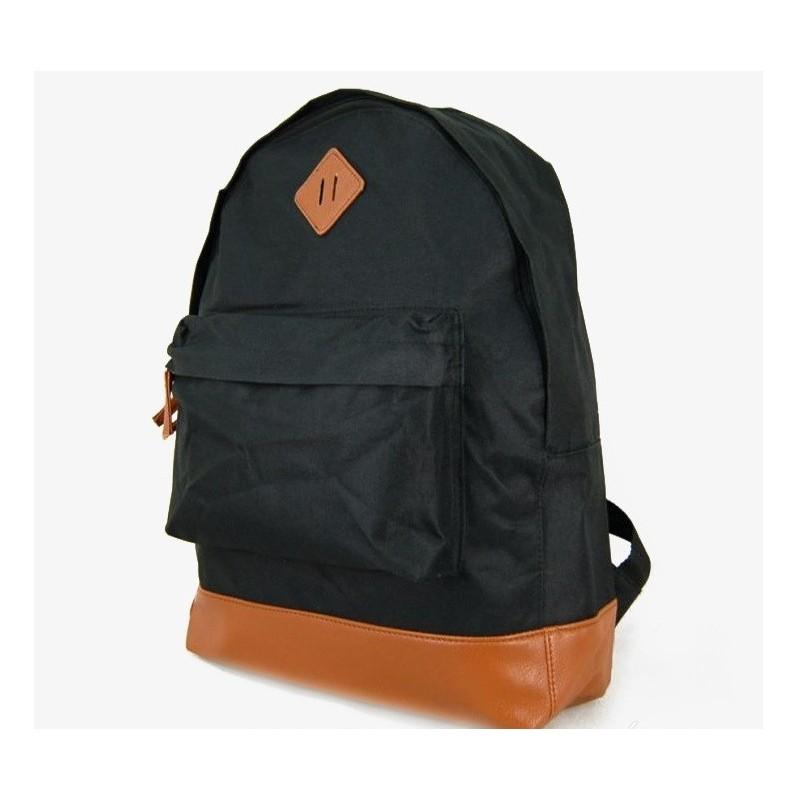 Plecak Retro - czarny