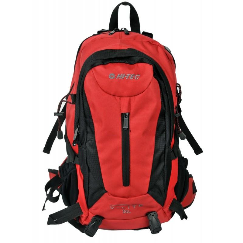 Plecak Hi-Tec AIRZONE 35L - czarno-czerwony