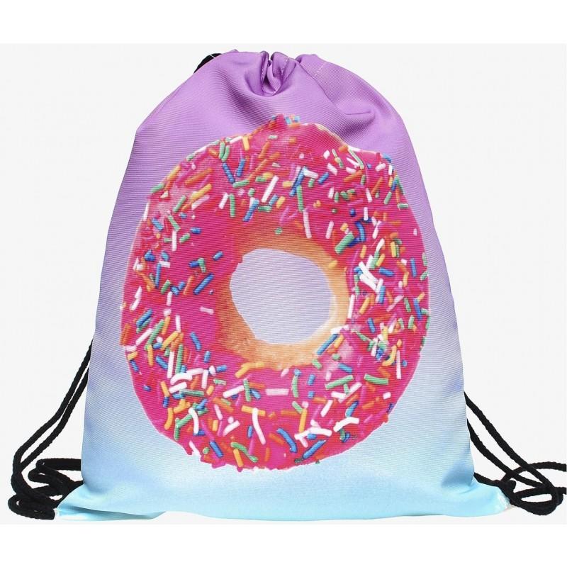 PLECAK/WOREK - FULL PRINT Pink Donut