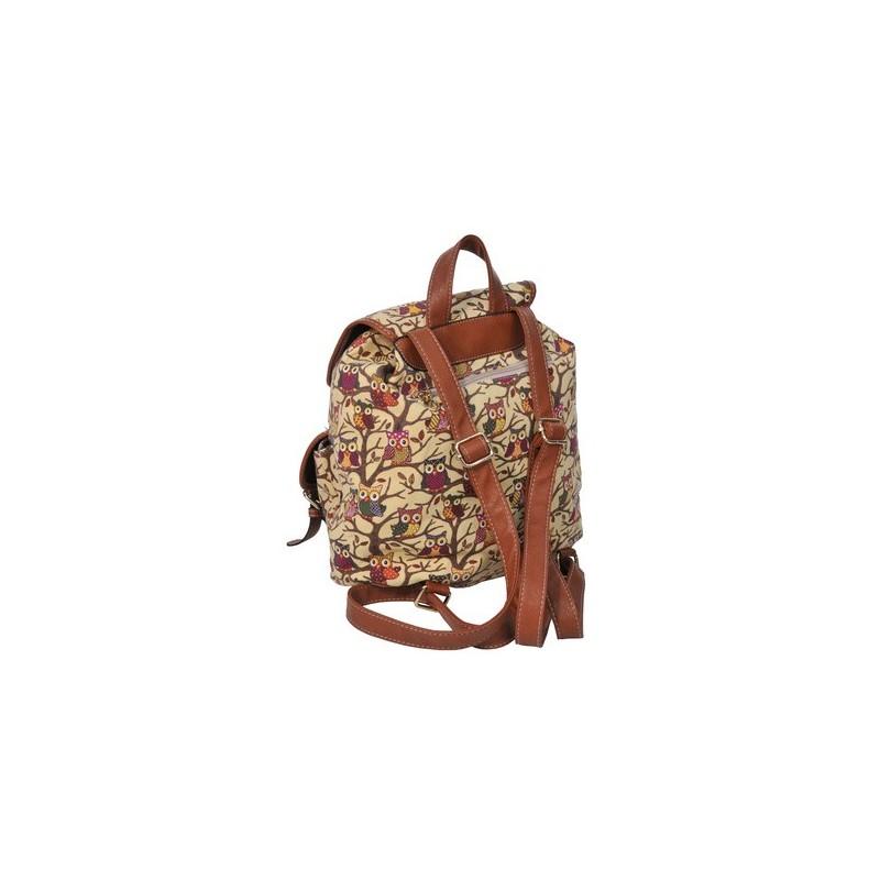 89c0954a32a81 PASO VINTAGE plecak - sowy - ePlecaki do szkoły i na wakacje