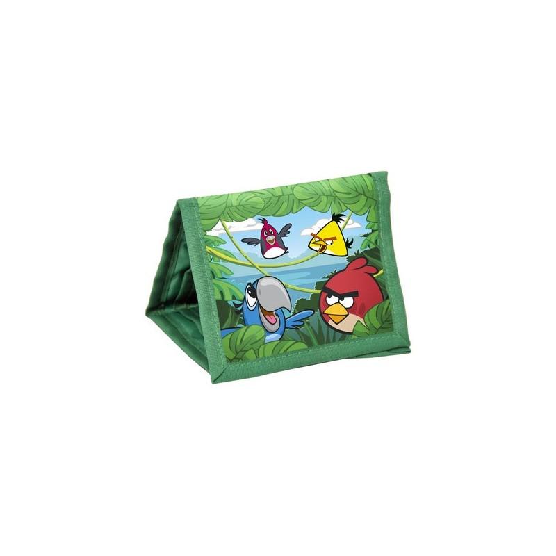 PORTFELIK Angry Birds Rio zielony