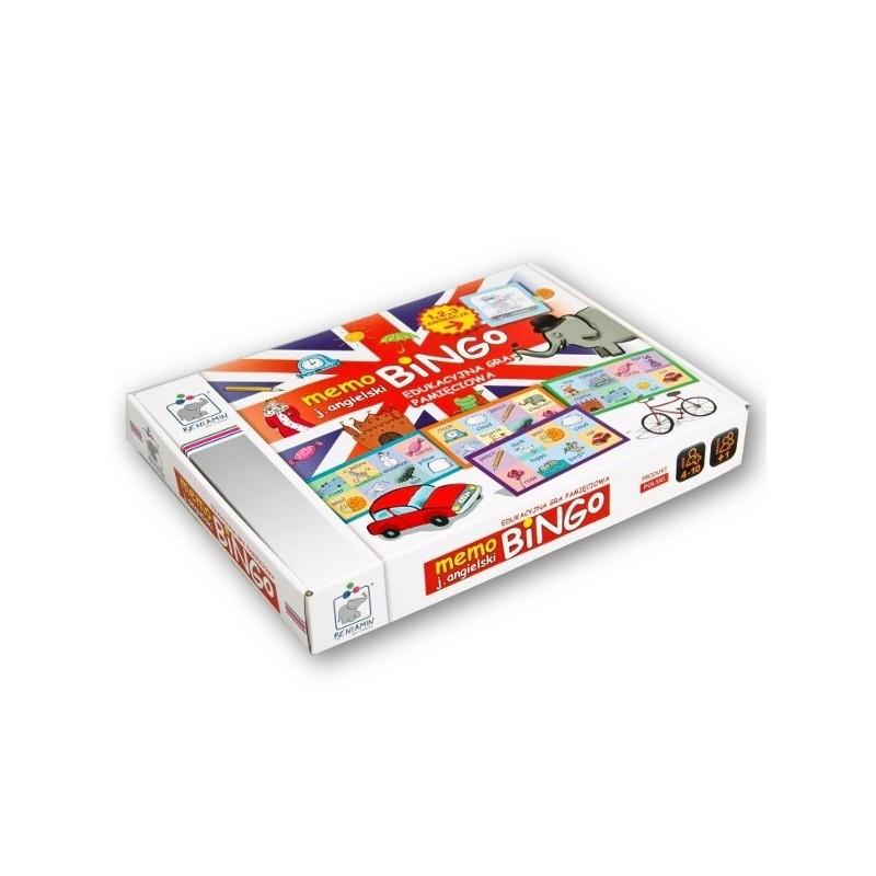 GRA PLANSZOWA - Memo Bingo J.angielski