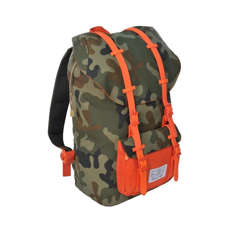 Plecak Premium Moro młodzieżowy pomarańczowy