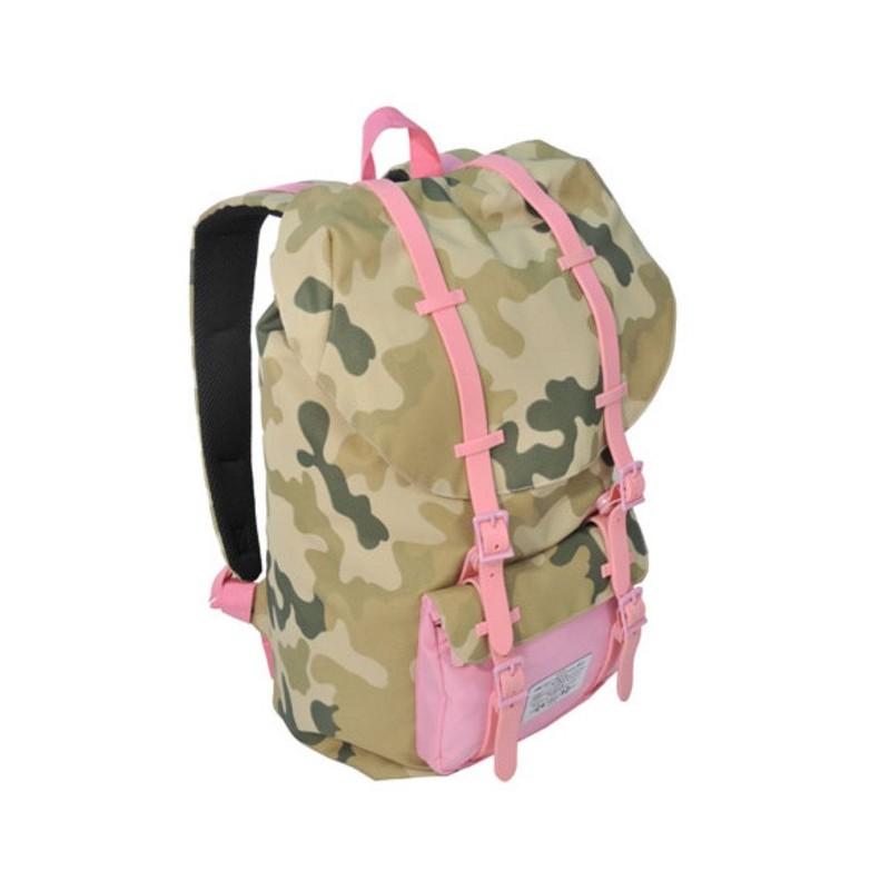 Plecak Premium jasne Moro młodzieżowy różowy