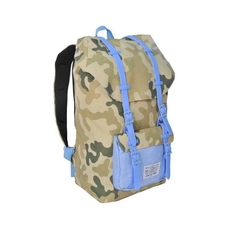 Plecak Premium jasne Moro młodzieżowy niebieski