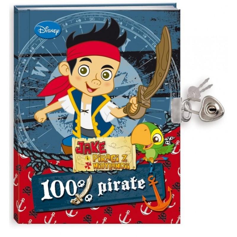 PAMIĘTNIK Z KŁÓDKĄ - Jake i piraci z Nibylandii