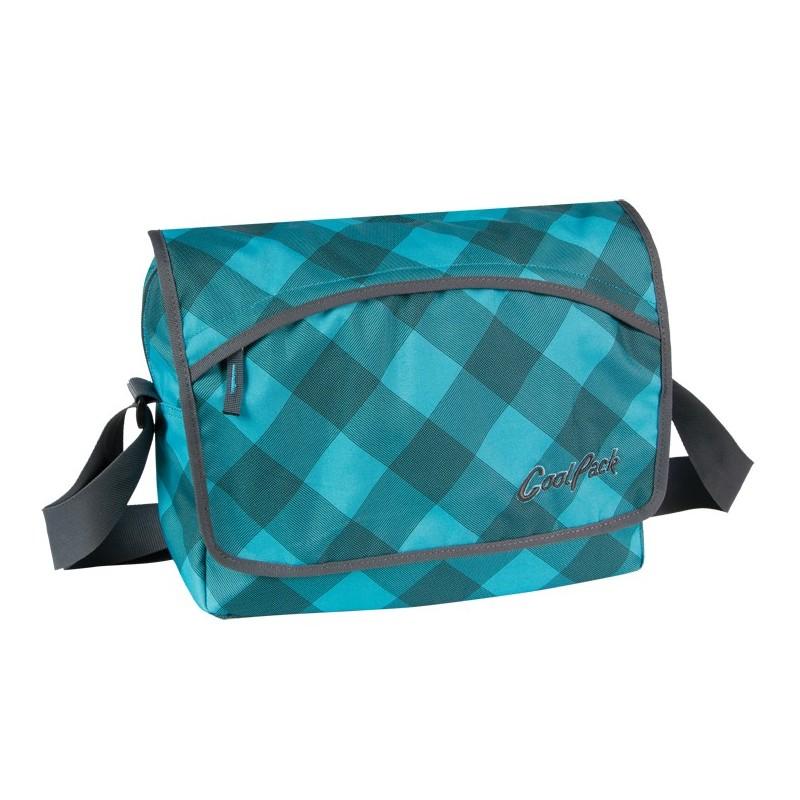 torba szkolna w kratę cp cool pack LISTONOSZKA COOLPACK 312