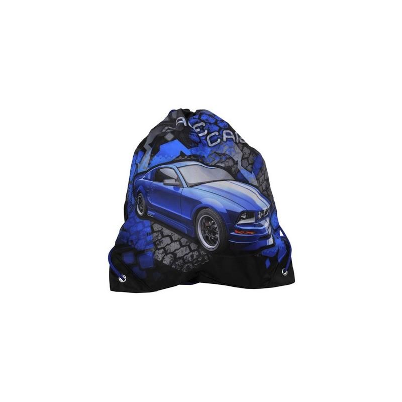 WOREK NA OBUWIE - Samochód niebieski