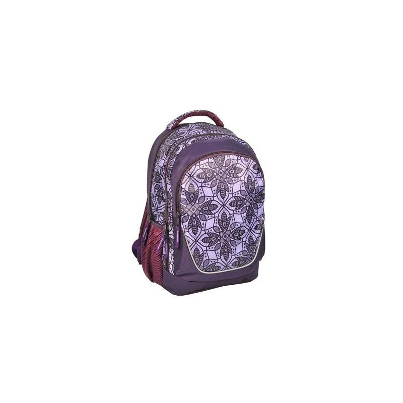 204ae11bb1f48 plecak szkolny koronka, fioletowy plecak dla dziewczyny,plecak ...