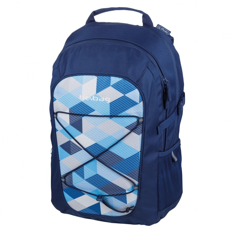 PLECAK Herlitz be.bag Fellow BLUE CHECKED