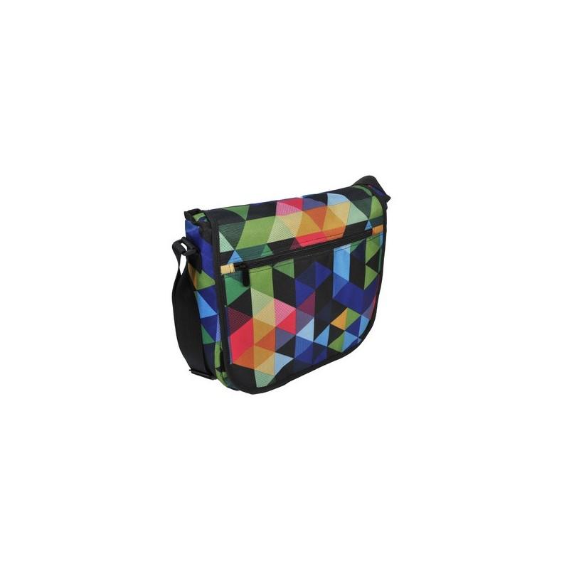TORBA NA RAMIĘ PASO - trójkąty hipster