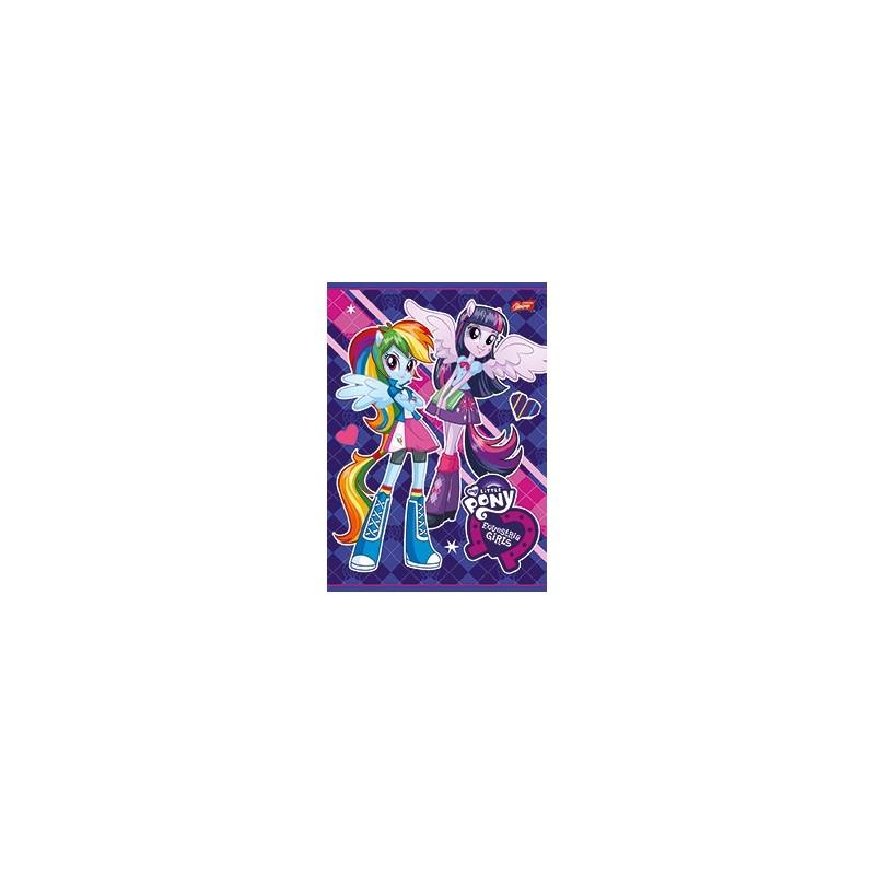 ZESZYT A5 32k. kratka MIX - EQUESTRIA GIRLS