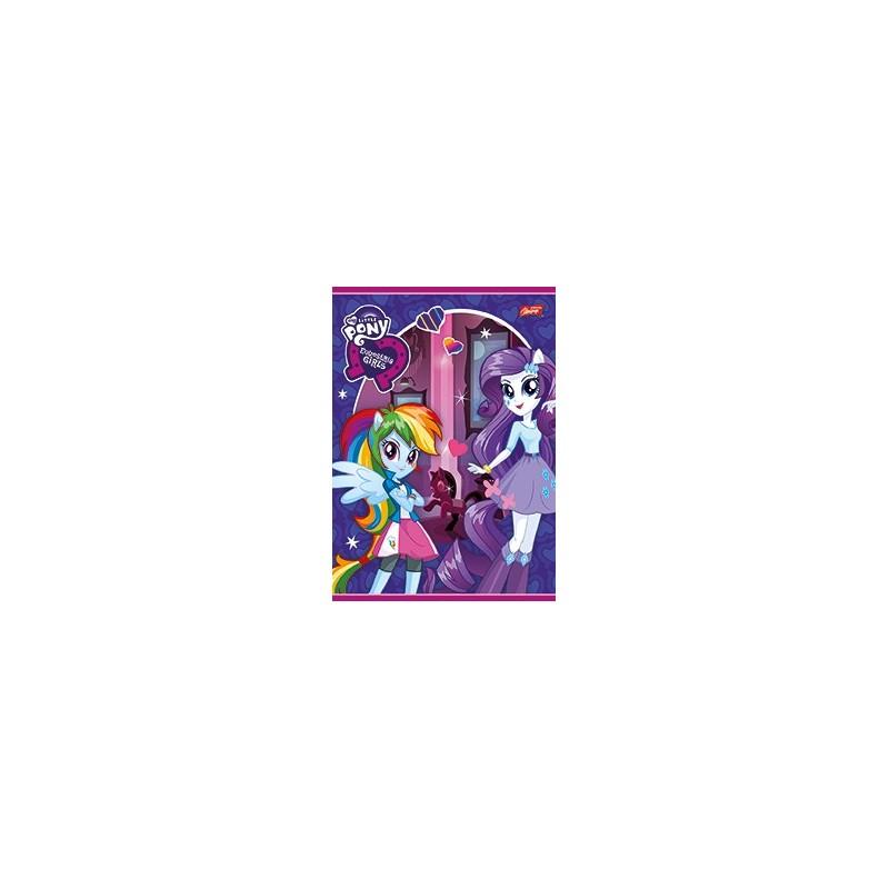 ZESZYT A5 16k. w kratkę 5szt MIX - EQUESTRIA GIRLS