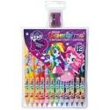 KREDKI BAMBINO 12 kolorów - Equestria Girls