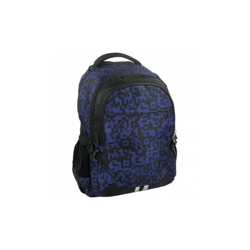 PLECAK młodzieżowy JETBAG - niebiesko-czarny