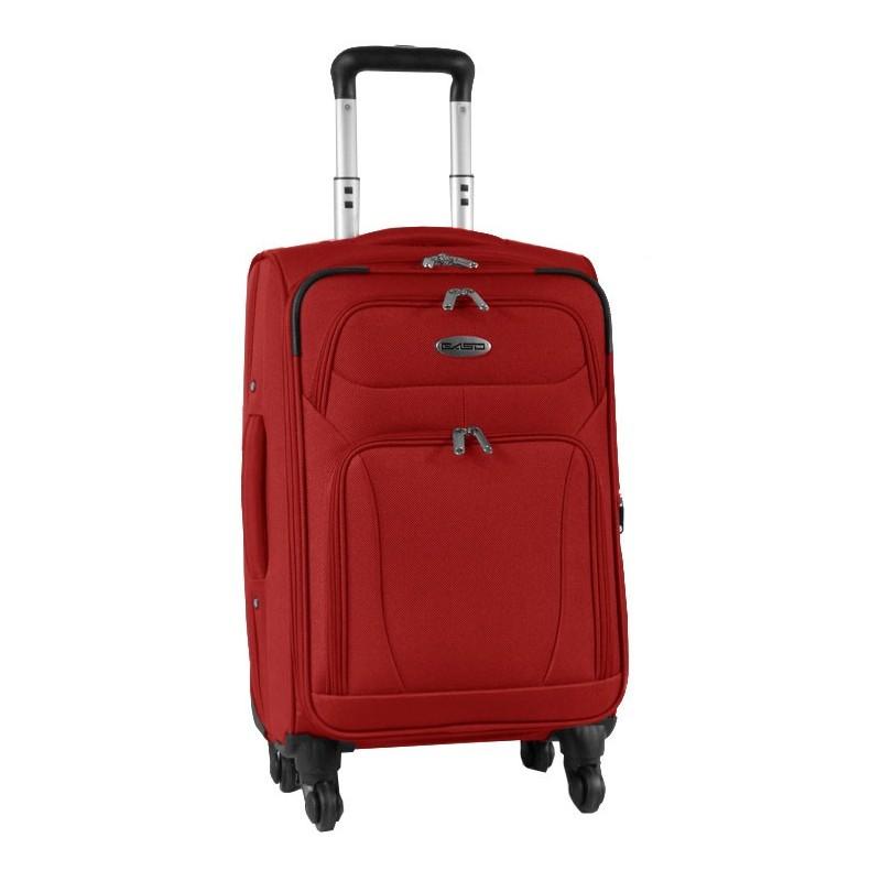 WALIZKA Premium mała na kółkach - czerwona