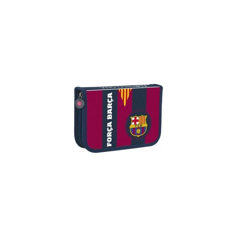 PIÓRNIK DWUKLAPOWY Z WYPOSAŻENIEM - FC BARCELONA