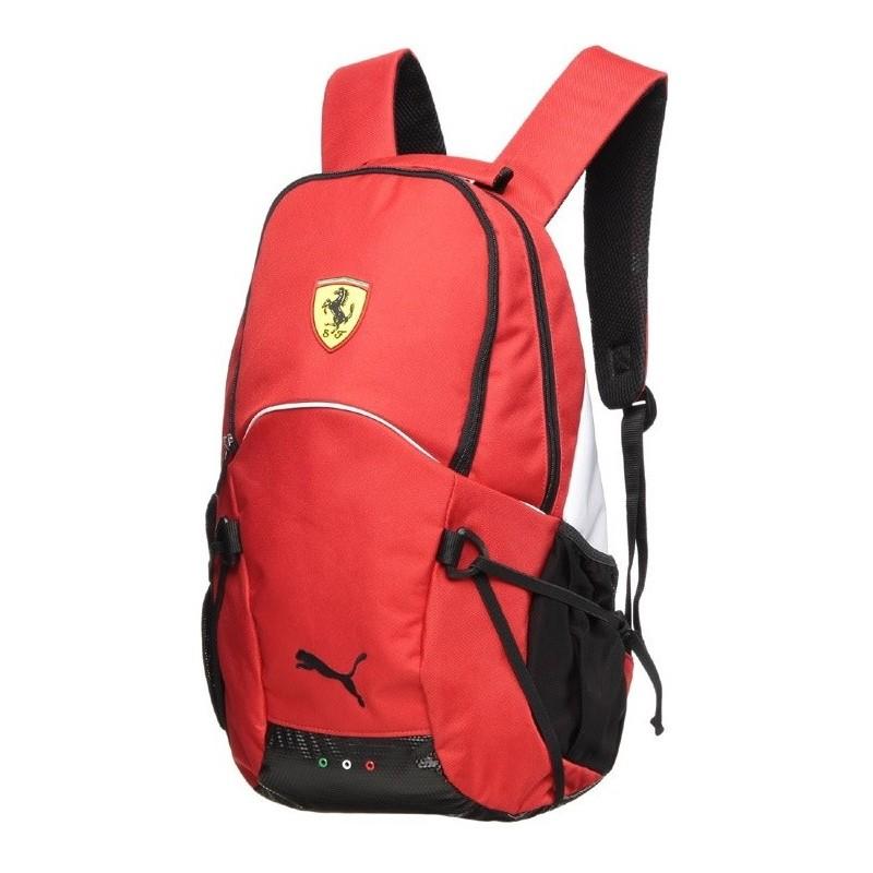 455787d19f375 Puma Ferrari Backpack czerwony red - ePlecaki do szkoły i na wakacje