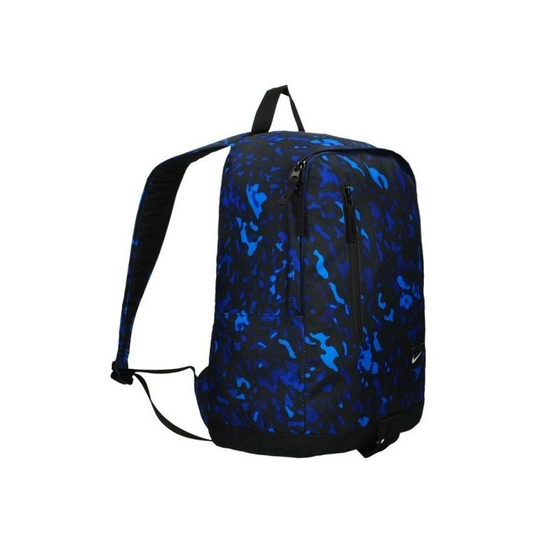 buty temperamentu najlepiej sprzedający się najlepsze trampki Plecak NIKE All Access Halfday Blue - niebieskie moro