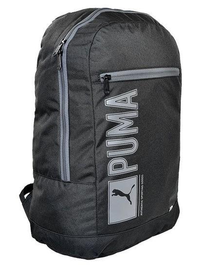 1debbe0f2239f Plecak Puma Pioneer Black uniwersalny - ePlecaki do szkoły i na wakacje