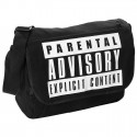 TORBA MIEJSKA NA RAMIĘ PARENTAL ADVISORY CANVAS