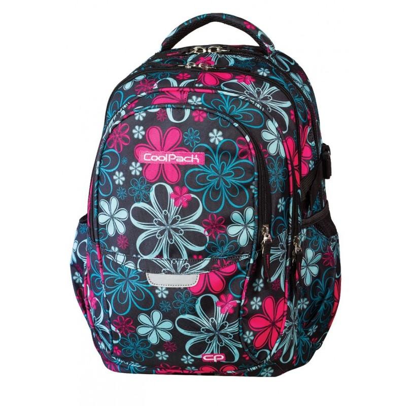 Plecak młodzieżowy CoolPack CP - 4 przegrody FACTOR FLOWERS 439