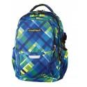 Plecak młodzieżowy CoolPack CP - 4 przegrody FACTOR AZURE CHECK 442