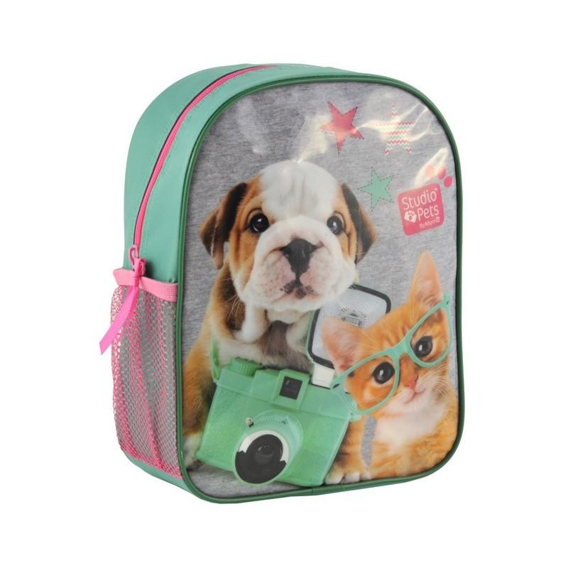 Plecaczek Studio Pets z psem i kotem