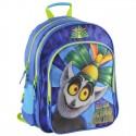 Plecak szkolny Król Julian - niebieski