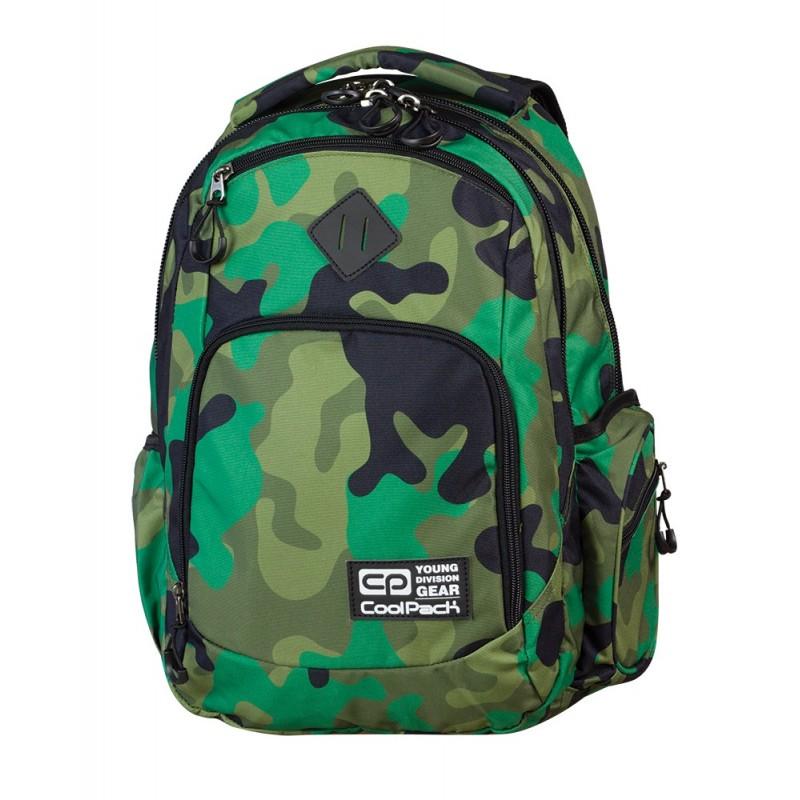 Plecak młodzieżowy COOLPACK CP - BREAK MORO GREEN 599
