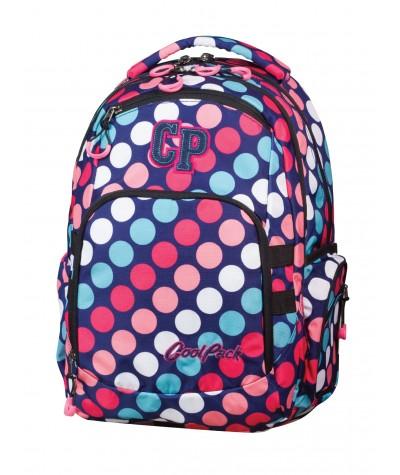 Plecak młodzieżowy COOLPACK CP W KROPKI- BREAK 605 dots